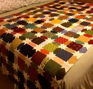 Sharon Bennett's WiP. See more pics on It's Daffycat cited below.