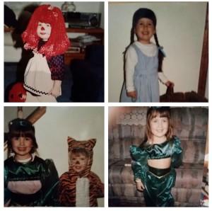 Amanda's Mom's Halloween Handiwork.