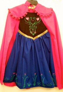 Perfect Finish! Princess Anna Costume for Kirklee