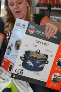 Expectant Fan Mom MUST HAVE: Bronco Crock Pot!