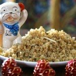 Toasted Garlic-y Quinoa