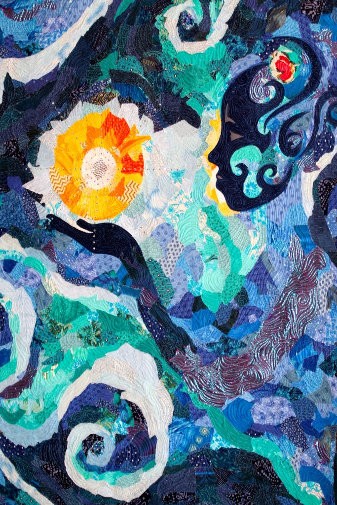 Darcy Brown Art Quilt: Significance of Jesus
